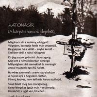Tóth Árpád: Katonasír