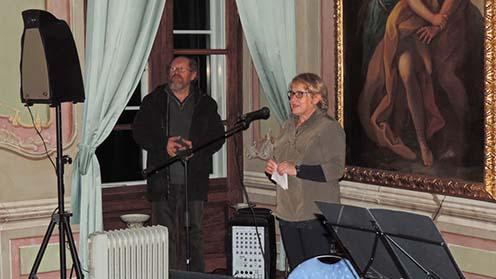 A múzeum igazgatóasszonya, Fujs Metka mutatta be a kiállítás célját és a kutatások eredményeit.
