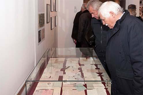 Jankó Zsigmond és Kovács Matild levelei sem maradhattak ki a kiállítás anyagából