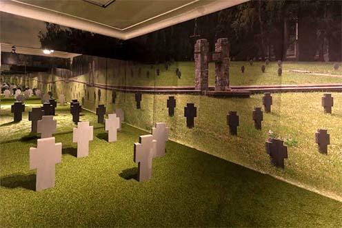 Katonai temető rekonstrukciója