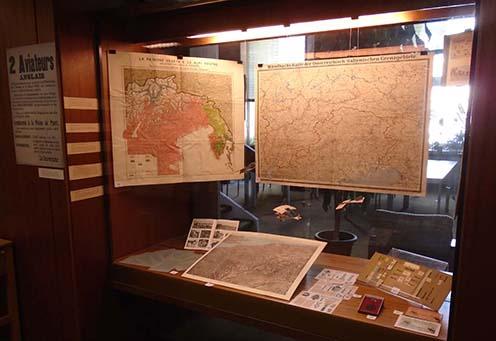Az utolsó vitrin az olasz és a nyugati front érdekességeiből válogat
