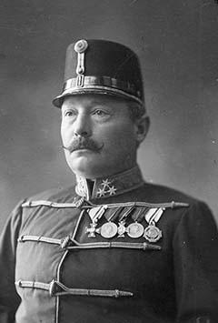 Honvéd ezredesként 1909 novemberében