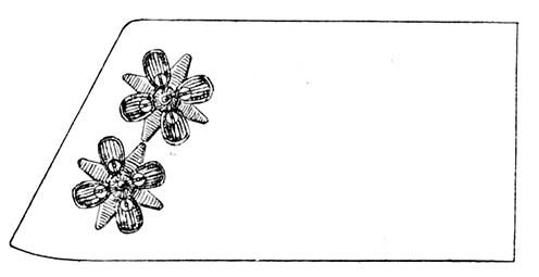 Az 1909 decemberében rendszeresített új rozetták