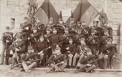 6. Osztrák gyalogság Boszniában