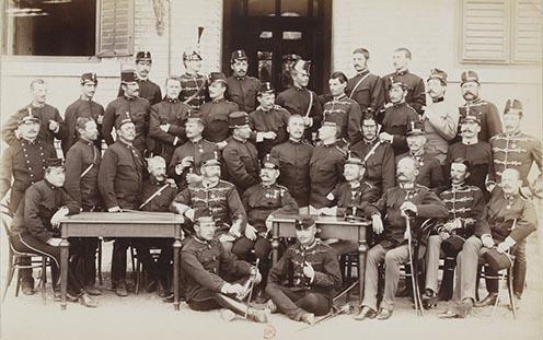 13. Magyar huszártisztek