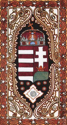 Magyarország címere a Javorca-templomon