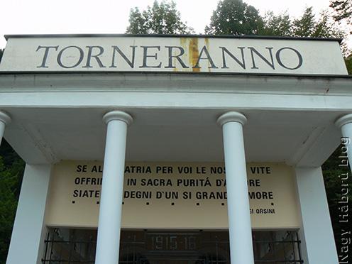 A gabrjei olasz emlékkápolna