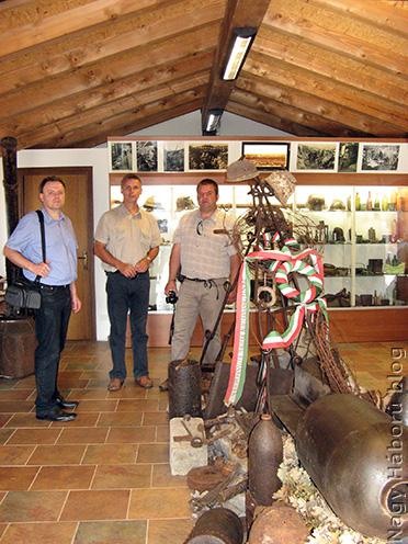A San Martino del Carsoban található első világháborús múzeumban