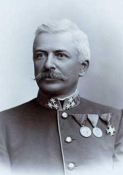 Albert Grünzweig von Eichensieg ezredes
