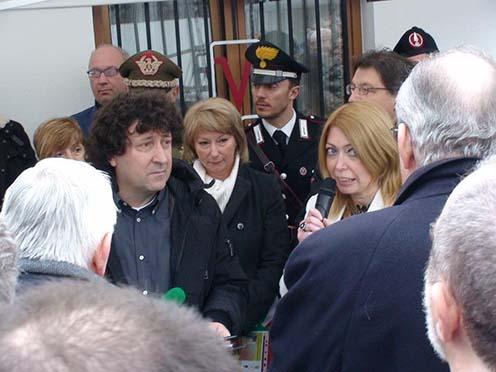 A szervezők nevében előbb Gianfranco Simonit szólt
