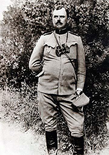 Dragutin Gavrilović a Szerb Királyi Hadsereg őrnagya