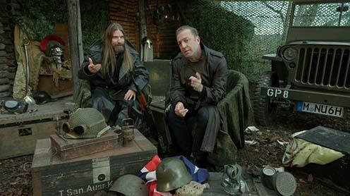 Sundström és Neidell a dal keletkezéséről szóló videó egyik pillanatában