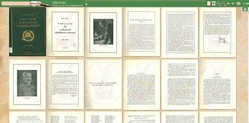 Könyvolvasó funkció a portálon