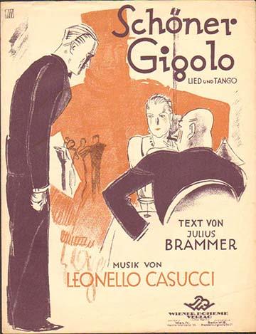 Otto Dely borítója Casucci és Brammer tangójához