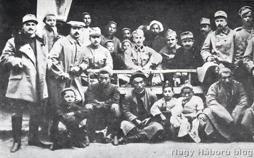 Magyar hadifogoly tisztek Turkesztánban