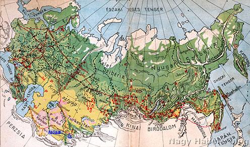 Az oroszországi hadifogolytáborok. Os Taskenttől délkeletre található Turkesztán déli részén a Bajkál-tó alatt