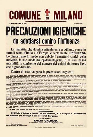 Milánó polgármesterének hirdetménye