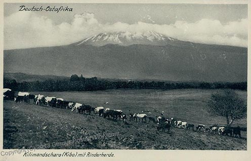 Kilimanjaro. Német Kelet-Afrika