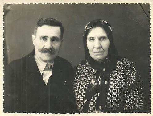Földesi Károly és felesége, Elena