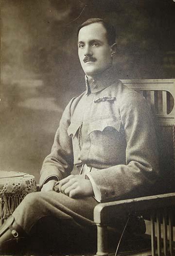 Sasi Lajos katonafotója