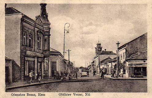 A szerbiai Niš (ejtsd: Nis) városa a XX. század elején