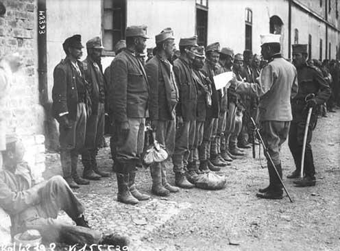 Osztrák–magyar hadifoglyok Nišben 1915-ben