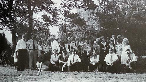 Az olasz résztvevők egy csoportja