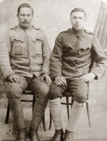 Orosz hadifoglyok Tasson, 1918