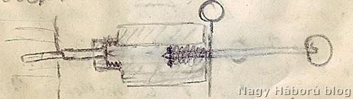 A gyújtószerkezet rajza