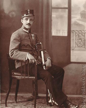 Kókay László 1917-ben Szegeden még zászlósként