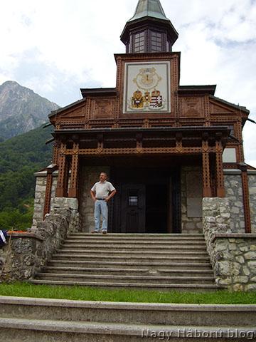 A Javorca kápolna egy korábbi felvételen