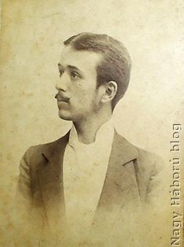Drávetzky Sándor 1897-ben készült fényképe