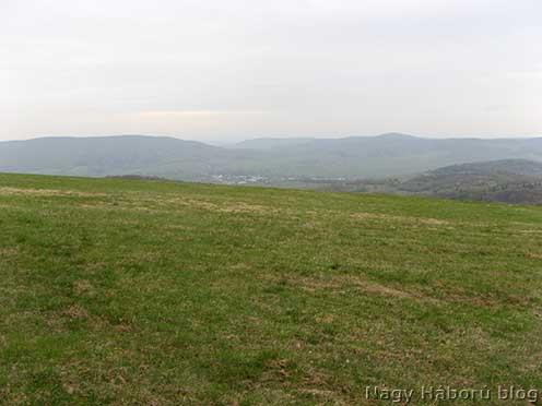 Az egykori békés legelő, mely nyílt rohamtereppé vált