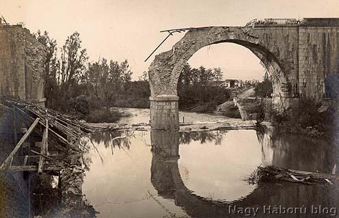 A felrobbantott rubiai híd