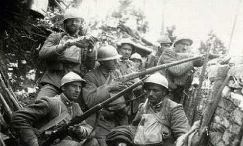 Csehszlovák legionáriusok a Piavénál