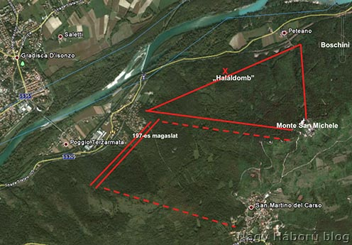 A terület a Google mai térképén