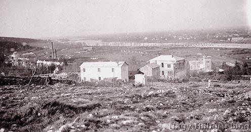 Sdraussina látképe 1915-ben