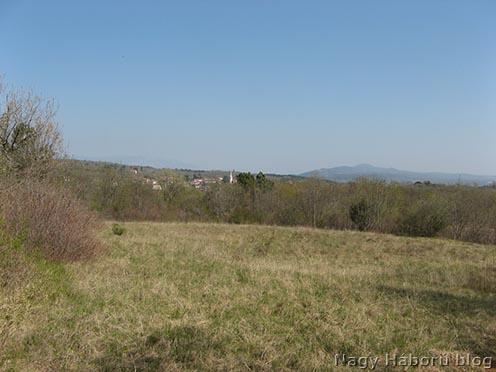 San Martino látképe a 197-es magaslatról
