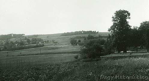 A Jabloniec észak felől készült fotója 1937-ből