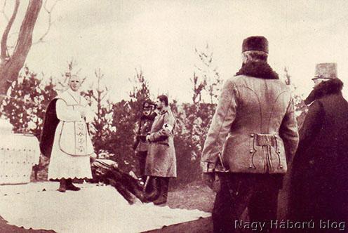 Folba János, a 10. lovashadosztály lelkésze emlékezik az elhunyt hősökre