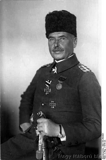 Liman von Sanders tábornagy, a Gallipolit védelmező 5. oszmán hadsereg főparancsnoka