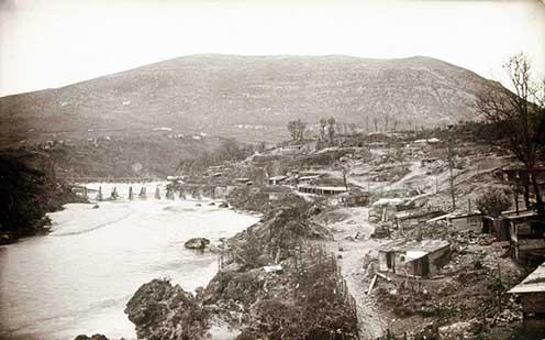 A Monte Sabotino a harcok alatt