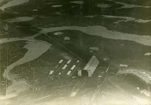 A szentandrási légikikötő madártávlatból