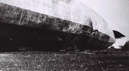 A sérült hajó