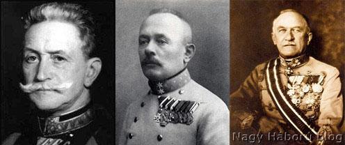 Conrad von Hötzendorf, Svetozar Boroevic és Szurmay Sándor