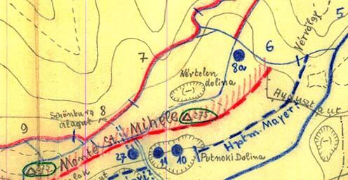 """A """"Névtelen dolina"""" helyzete"""