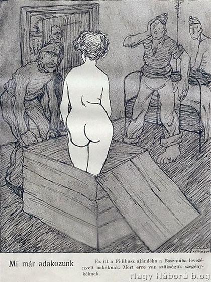 Részlet a Fidibusz című korabeli élclapból, 1908