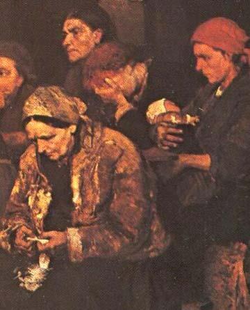 Tépéscsinálók 1848–49-ben Munkácsy Mihály festményén