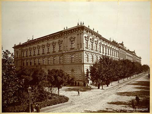 Az iskola épülete a XX. század elején