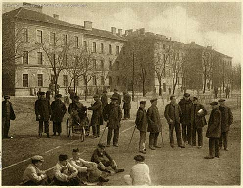 A m. kir. Hadirokkant Otthon (Budapest, Timót utca 3.) 1924-ben